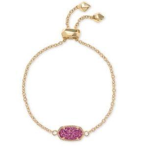 Kendra Scott Jewelry - Kendra Scott Elaina Bracelet Fuchsia Drusy